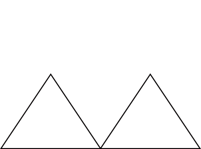 Figure 2: Two Triangles